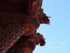 Wood Carvings Of Havali Temple 002