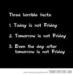 Why Tuesday is the worst day of the week.