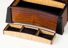 Jewelry Box- Bent laminated lid - Reader's Gallery - Fine Woodworking