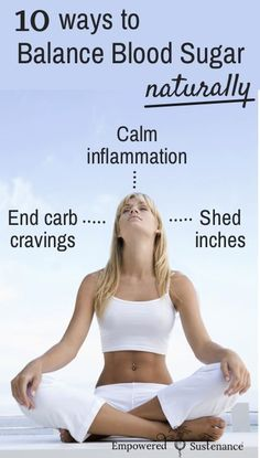 End carb cravings, calm inflammation and lose weight by balancing blood sugar | Empowered Sustenance