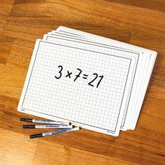 Övrigt : Skrivtavla vit A4 30-pack Whiteboard, 30th, A4, Packing, School, Erase Board, Bag Packaging