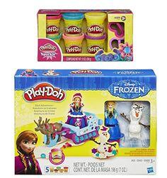 Play-Doh Sled Adventure Playset Featuring Disneys Frozen ... http://www.amazon.com/dp/B01BH6WBP2/ref=cm_sw_r_pi_dp_Wg3oxb1HDGQYW