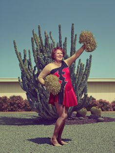 Portraits Reveal The Energetic Faces Of Retired Cheerleaders