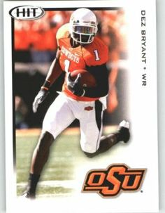 Dez Bryant WR / Oklahoma State (RC - Rookie Card) FIRST EVER NFL Trading Card - 2010 Sage HIT Football Card Shipped in Protective Screwdown Case by Sage. $1.00. This is just one of the 1000s of great single sports cards we are offer on here .... 2010 Sage HIT Football Card - Mint Condition - Shipped in Protective Screwdown Case. FIRST EVER NFL Football Trading Card!!!. NOTE: Stock Image Used - Contact Seller for More Information. Buy More Singe Cards & Save on ...