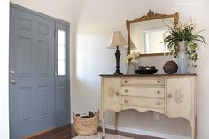 Entry Room Makeover from Ace Blogger @nestforless