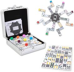Mexican Train Dominoes, Tiles Game, Fun Games For Kids, Thing 1, First Game, Table Games, Gift Guide, Board Games, Dots