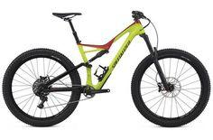 Specialized Stumpjumper Fsr Comp Carbon 6fattie 2017 Mountain Bike Yellow EV279786 1000 1_Thumbnail