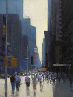 John Martin Gallery - Andrew Gifford, New York Paintings