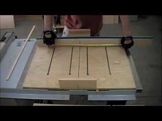 ▶ Woodworking - How to Make a Dado Sled for Table Saw - YouTube