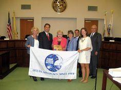 Clean Ocean Action: Inaugural Blue Star Award Presented to Wall Townsh...