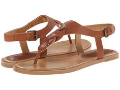 Nine West Kearin Cognac Leather - 6pm.com