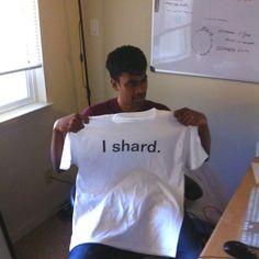 @Yashwanth Nelapati's new t-shirt!