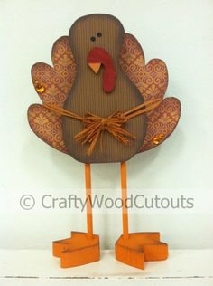 pictures of wood crafts | More Thanksgiving Wood Craft Home Decor | DIY Unfinished Wood Crafts
