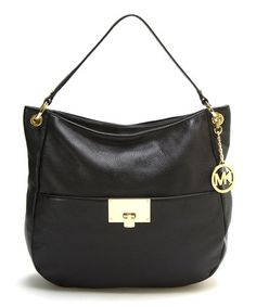 Loving this Black Channing Leather Tote
