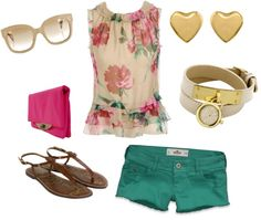 women fashion, created by candycorner on Polyvore