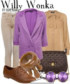 Not that I'm a fan of Willy Wonka, but I already have these shoes...I wish I had some skinny laces like those.