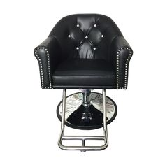 Bristol Styling Chair - The Bristol Styling chair is one of our most elegant, comfortable options. Features a beautiful crystal tufted backrest. Salon Furniture, Barber Chair, Foot Rest, Steel, Bristol, Shop, Home Decor, Lounge Furniture, Decoration Home