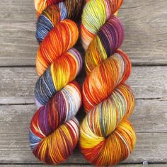 Soul Food - Yummy 3-Ply - Babette | Miss Babs Hand-Dyed Yarns & Fibers, Inc.