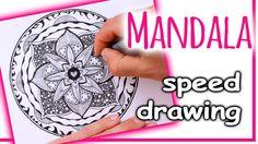 How to draw - MANDALA ART | Zentangle