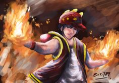 BoBoiBoy Fire is the new form of BoBoiBoy and first appear in Episode 15 when he burn many things such as Canteen Lady's chicken coop, Mr.Kumar's Ice Cream Stand, Exam Paper Warehouse, Sport Warehouse, and the sewer.  He have power based on fire and his know style is Fire Ball. He seems to be a free person and do anything without a plan.