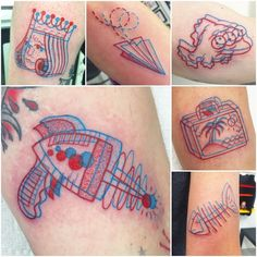 Yesterday's 3D flash day was awesome! Here are a few of the tattoos that were made.  Thank you to everyone who came out to get tattooed! I had such a great time talking to each of you ✌️ good times all around! Also thanks to my lady @msbrainstorm for helping out!   If you missed out on yesterday and are still interested in a 3D flash tattoo, feel free to email me to set up an appointment. The designs are always available! thelostcause.va@gmail.com