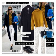 """NYFW  2016 Best Street Style Day 7"" by stylepersonal ❤ liked on Polyvore featuring Lucky Brand, MANGO, Zara, Chicwish, Boden, Charlotte Simone, GlassesUSA, women's clothing, women and female"