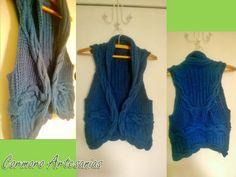 Colete Dora em tricô (tricot vest)
