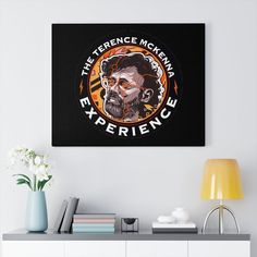 Canvas Wall Art, Wall Art Prints, Canvas Prints, Canvas Art For Sale, Terence Mckenna, Joe Rogan, The Joe, My Arts, Artist