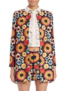Alice and Olivia - Rory Embroidered Jacket