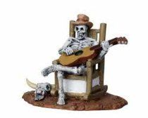 Lemax Spooky Town Rocking Chair Skeleton # 22003 // Description Add some ghoulish delight to your Halloween scene with this figure // Details Sales Rank: #66919 in Home Brand: Lemax Model: 22003 Features Features a skeleton sitting in a chair playing a guitar Approx. size: ( H x W x D ) 2.56 x 2.13 x 1.73 inches Poly-resin figures// read more >>> http://Ashlee896.iigogogo.tk/detail3.php?a=B008ZT5P4E
