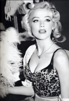 Amber Heard by Ellen von Unwerth for Guess ~ Marilyn Monroe/Bus Stop Inspired