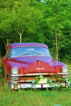 Rusty Car by Jeanie Sorrells Beach