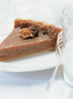 Tarte au Sucre (Sugar Pie) ~ A single-crust pie filled with a mixture of cream, flour, egg, and brown sugar, which is sometimes replaced with maple syrup. Pie Recipes, Sweet Recipes, Baking Recipes, Dessert Recipes, Baking Ideas, Sweet Pie, Sweet Bread, Ricardo Recipe, Desserts With Biscuits