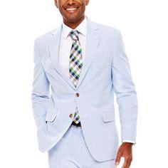 Stafford® Seersucker Suit Jacket - Classic Fit - JCPenney