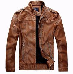 crocodile band collar biker jacket - Google Search