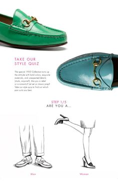 The A to Z of Shoe Shopping: Gucci - yes, you can have them with heels ;) - The Gucci 1953 Horsebit Loafer