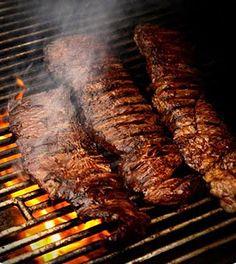 Grilled #Asian Skirt Steak: #Dinner #Beef