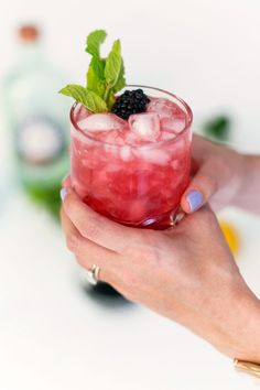 Recipe: the Briar Patch Cocktail