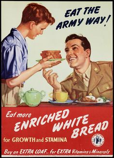 Eat the army way! Eat more enriched...