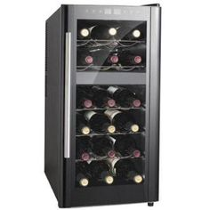 SPT 13-1/2 in. 18-Bottle Thermoelectric Wine Cooler with Dual Zone and Heating-WC-1857DH at The Home Depot