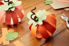 DIY Kid-friendly Crafts for a Full House (Halloween Crafts For Seniors) Thanksgiving Crafts For Kids, Halloween Crafts For Kids, Holiday Crafts, Harvest Crafts For Kids, Pumpkin Crafts Kids, Toddler Crafts, Preschool Crafts, Fun Crafts, Fall Paper Crafts