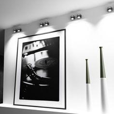 Directional spotlight of solid aluminum for a light source. Spot Light, Studio, Lights, Wall, Design, Interior, Highlight, Indoor, Lighting