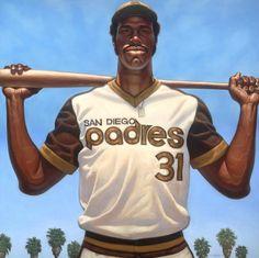 Baseball Art - Dave Winfield by Kadir Nelson