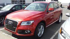 2014 Audi Q5 2.0T volcano red