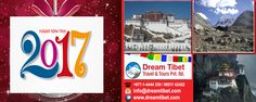 Happy New Year 2017. Dream Tibet Travel, Specialized in Tibet tour, Nepal tours, Bhutan tour Package.