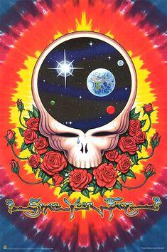 The Grateful Dead Space Your Face Huge Music Poster Print Grateful Dead Image, Grateful Dead Poster, Dead Space, Dead Images, Dead And Company, Horror, Poster Art, Vintage Poster, Forever Grateful