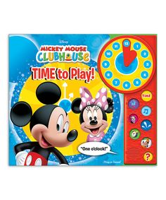 Take a look at this Mickey Mouse Clubhouse Board Book today!