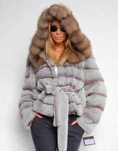 OUTLET VELVET ROYAL SAGA MINK FUR SABLE NERZ NERZJACKE ZOBEL VISON WIE FUCHS FOX