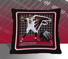 Atlanta Falcons NFL Matt Ryan Toss Pillow