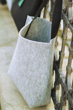Filcowa torba by monka.com.pl